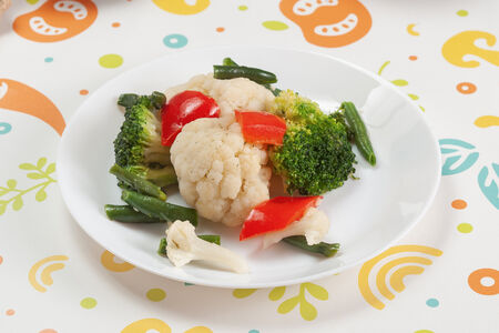 Овощи Аль денте