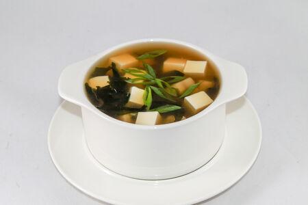 Суп Мисо грибной