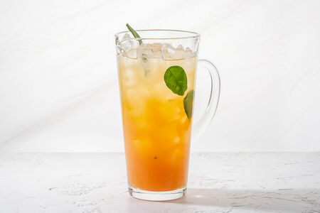 Лимонад маракуйя с лаймом