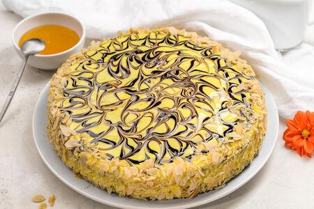 Пирог бисквитный Медовый аромат целый