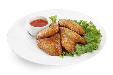 Куриные крылышки по-тайски Пик Кай Кроб