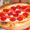 Фото к позиции меню Пицца Пепперони на пышном тесте