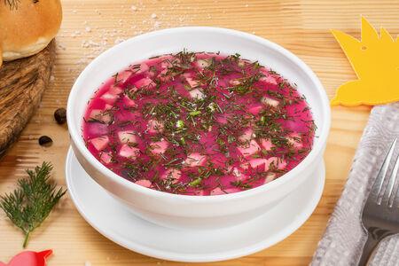 Суп Холодник с колбасой