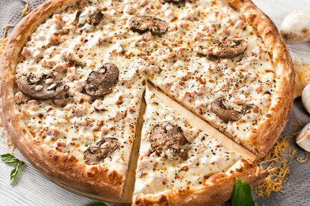 Пицца Курица и грибы