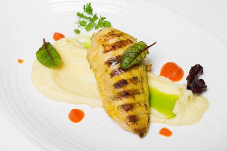 Куриное филе с сыром Моцарелла