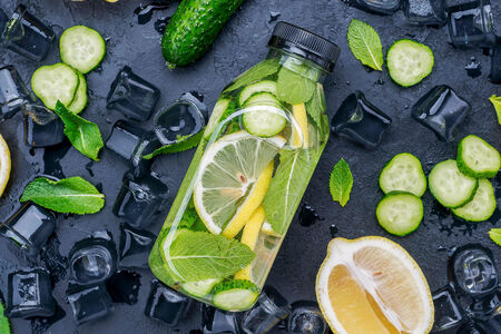 Detox Water с лимоном