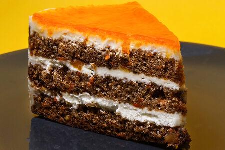 Пирожное Каролина морковно-пряная