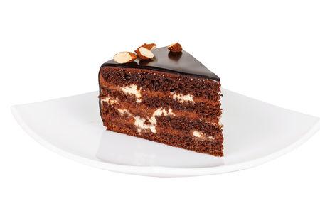 Порция Шоколадно-орехового торта