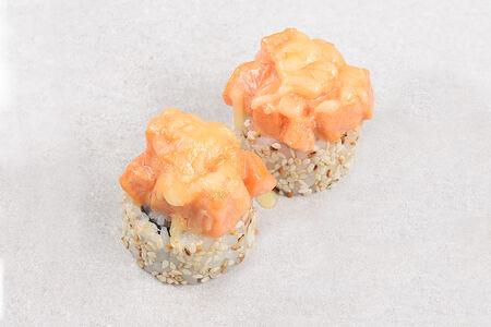 Ролл Запеченный лосось с сыром