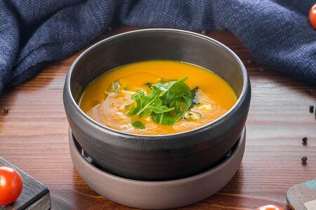 Крем-суп из тыквы с эстрагоном