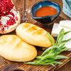 Фото к позиции меню Мчади с Имеретинским сыром
