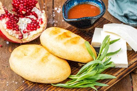 Мчади с Имеретинским сыром