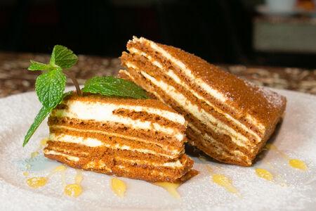 Торт Домашний медовик