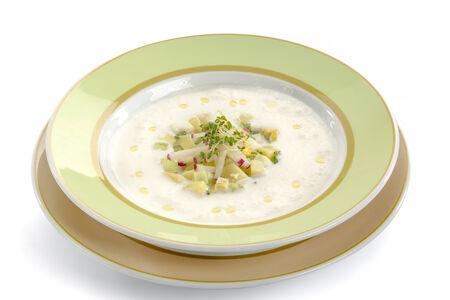 Холодный суп Йогуртовый
