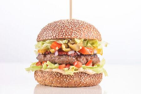 Бургер Маст хэв с мраморной говядиной