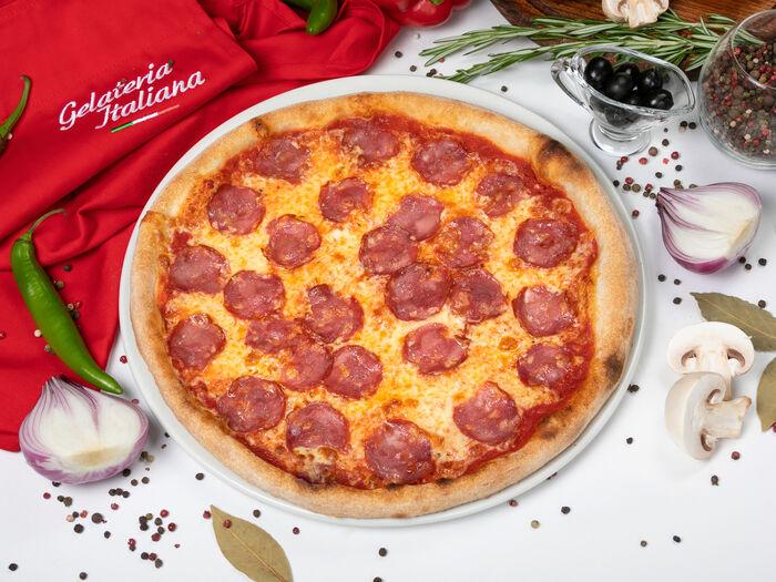 Пицца Саламе