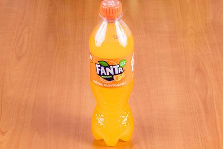 Fanta в бутылке