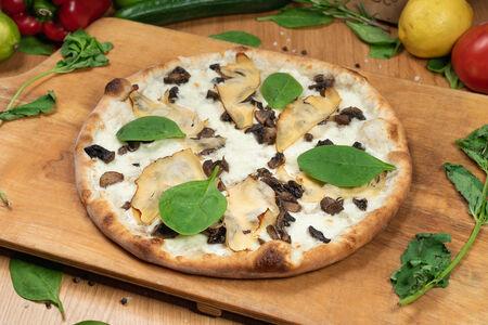 Пицца традиционная Грибная с курицей