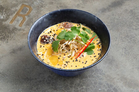 Сингапурский суп Лакса