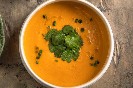 Крем-суп из батата