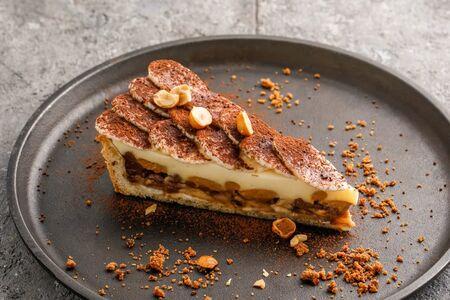 Шоколадно-банановый тарт