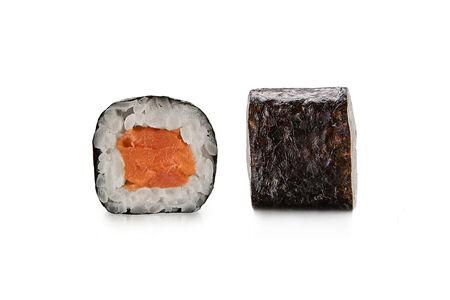 Ролл Маки с копчёным лососем