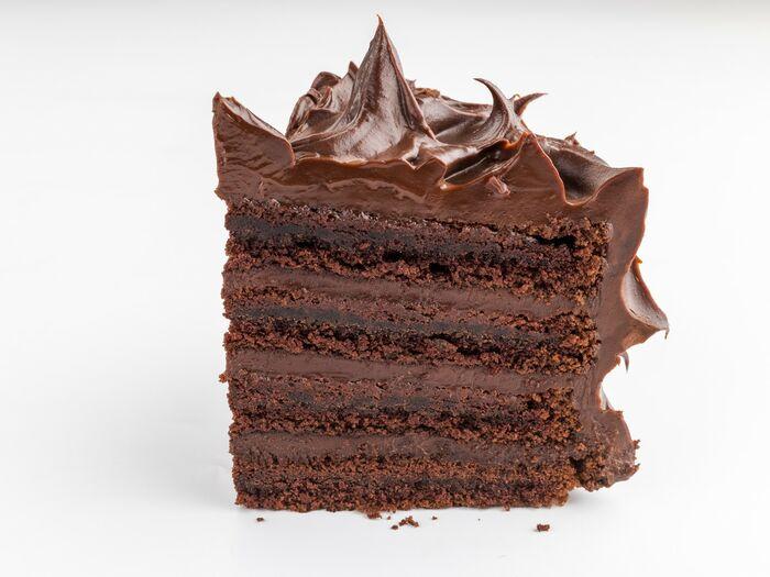 Кусочек торта Шоколадная мечта