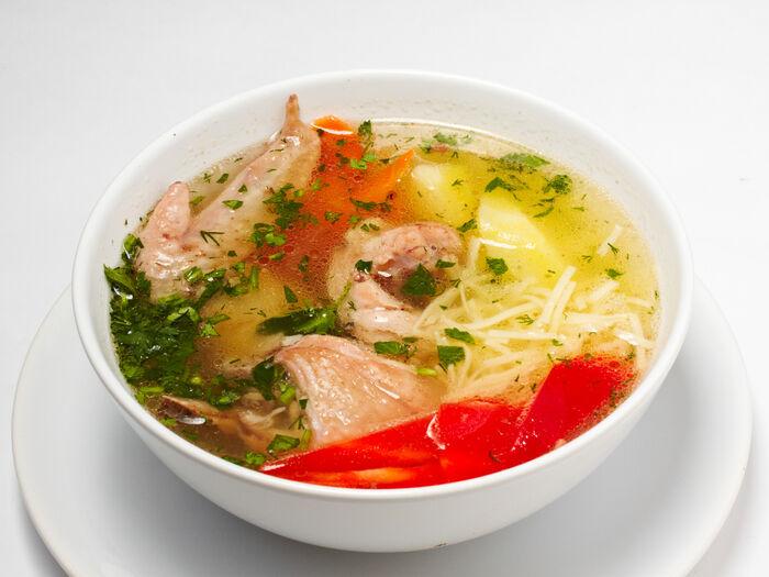 Суп Тукмач с курицей