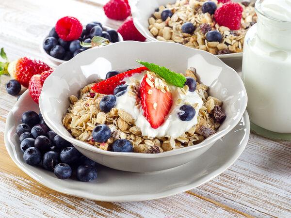 Balance healthy food