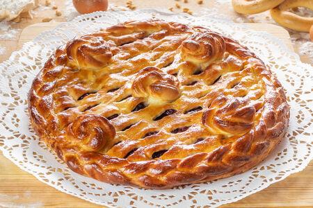 Пирог ягодный микс