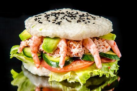 Суши-бургер Камчатский Лайт