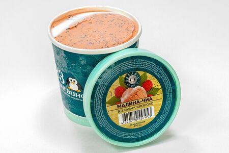Мороженое Малина-чиа