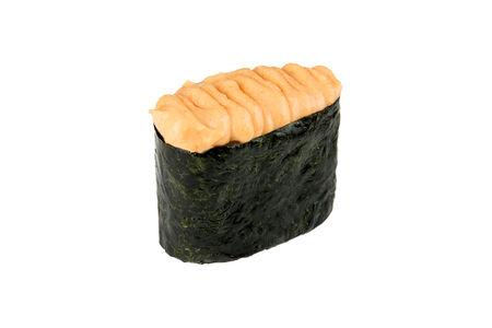Суши Спайси с копчёным лососем
