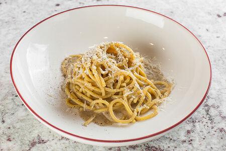 Спагетти качио пепе