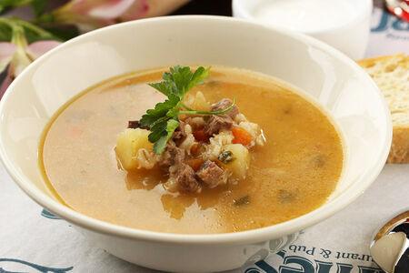 Суп Рассольник с телятиной