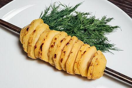 Картофель в прослойках из курдюка