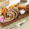 Фото к позиции меню Ассорти жареных колбасок