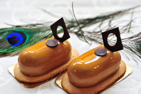 Пирожное Кофейно-карамельное латте