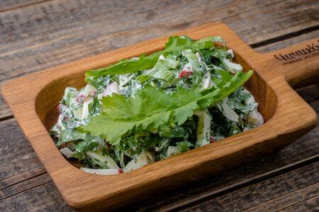 Летний салат из трав