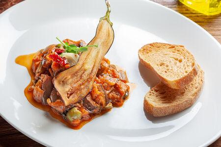 Традиционное овощное рагу по-сицилийски