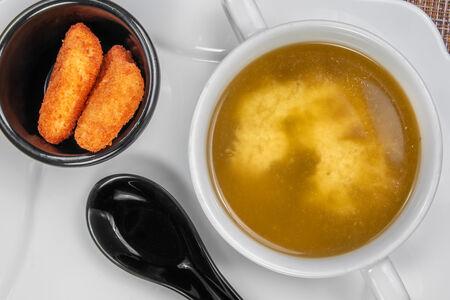Мисо суп с чукой