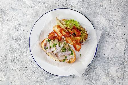 Сэндвич с сельдью