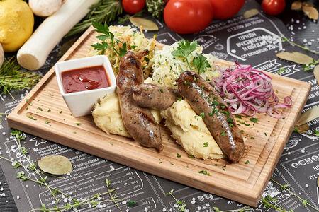 Английские свино-говяжьи колбаски
