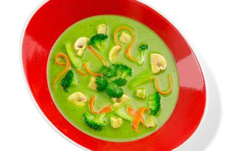 Грин карри с овощами