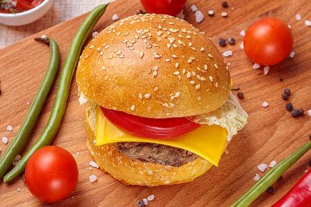 Экобургер с говядиной