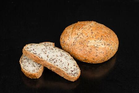 Хлеб со льном