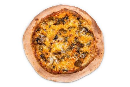 Пицца с ростбифом и грибами