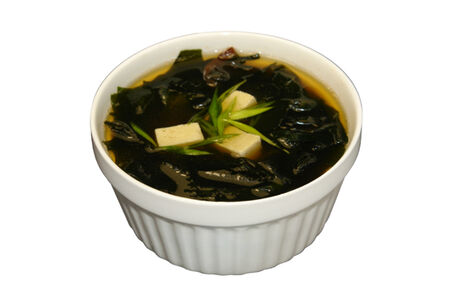 Суп Мисо с креветкой
