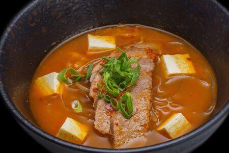 Суп Кимчи с телятиной