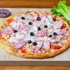 Фото к позиции меню Пицца Ветчина и бекон